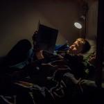 Plac 1. Godnattsagan-Henry Fredriksson. Underbar stämning och mästerligt ljus på precis de rätta ställena. Alla enades om att det här är vinnarbilden. Grattis!