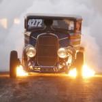 6. Bilsport-Dusko Jovanovic. Eld fylld bra bild som förmedlar av en känsla, man kan nästan känna lukten av rök och bränt gummi.  Dock gör Röken att bilden tappar i stunsen lite.