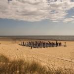 5.Playaträngsel – Per Wallén- Den här bilden flyttades upp i placering ju mer vi tittade på den. Ren bild där blicken söker sig direkt till huvudmotivet, människorna på plattan. Vi undrar vad de gör där? Bilden väcker frågor.