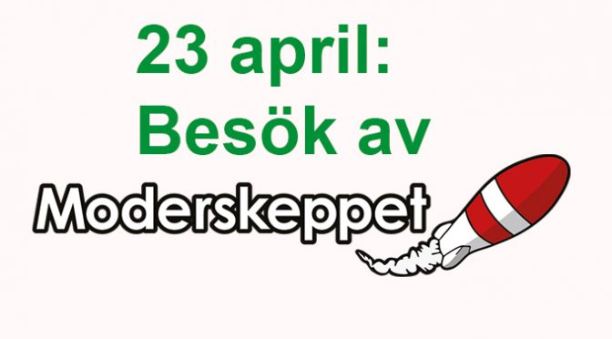 Klubbmöte 23 april: Moderskeppet